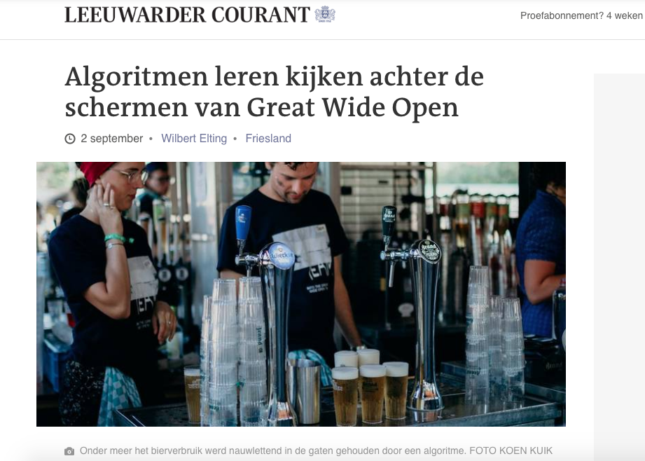In de Leeuwarder Courant
