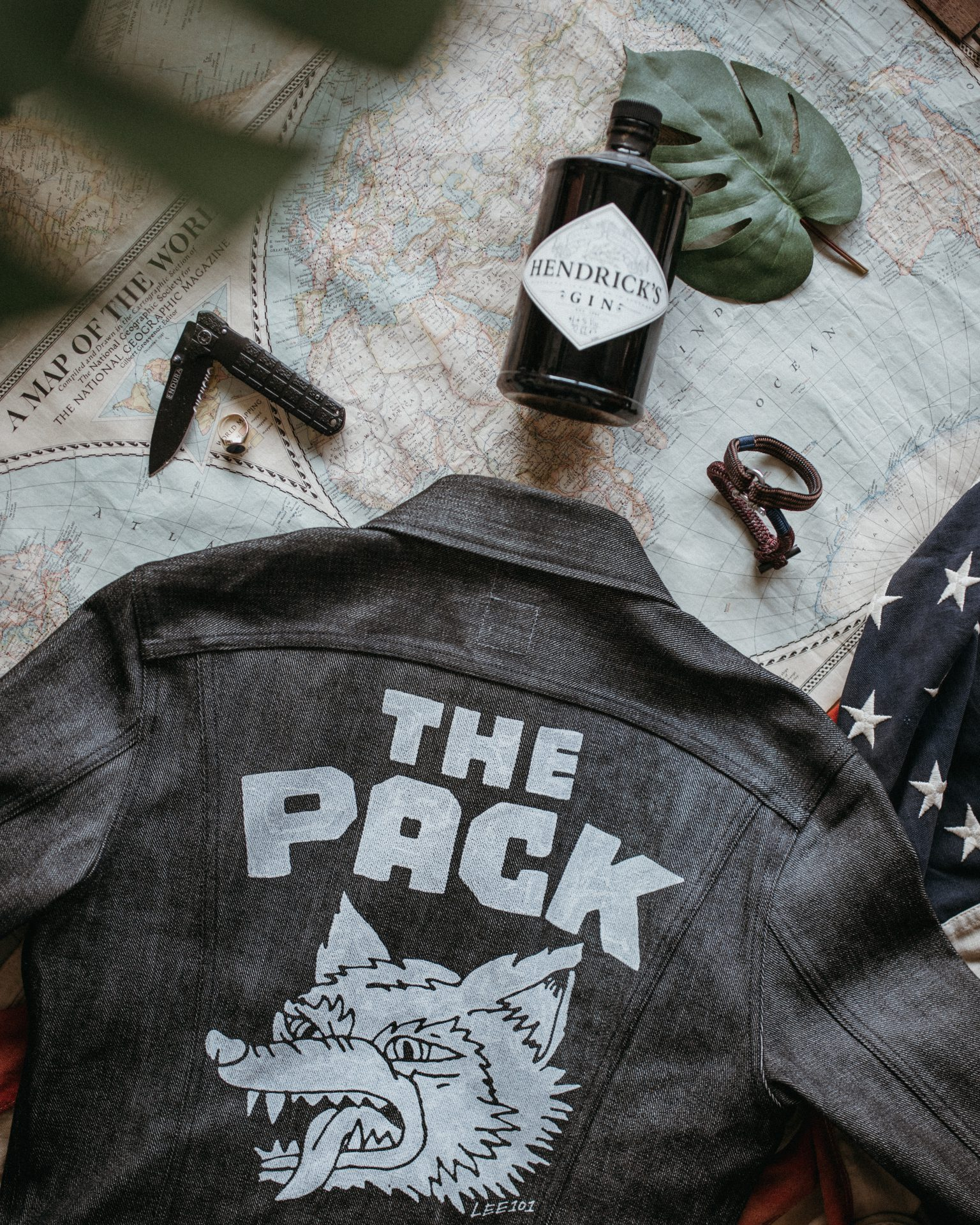 Denim Jacket Map